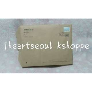 BTS SG 2018 Craft Box + Outer Box + Large Envelope