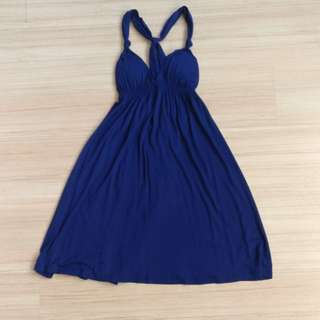 Forever 21 dress in navy (Preloved)