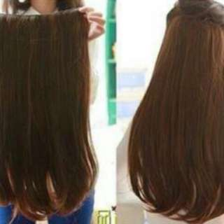 Korean Hair Clip (dark Brown)