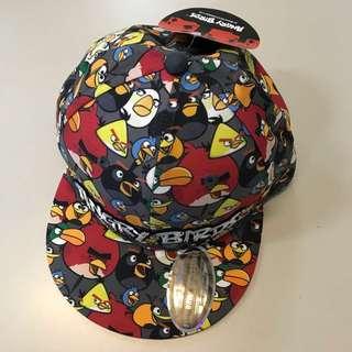 Angry birds snapback skater hat