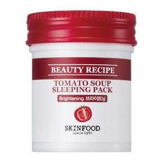 🌸Skinfood Tomato Sleeping Pack/ Face Mask