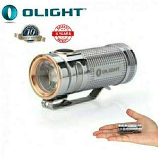 (Free Shipping) OLIGHT S Mini Titanium Body Compact Flashlight