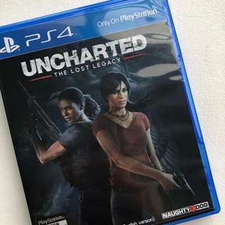 PS4 Game unchartered