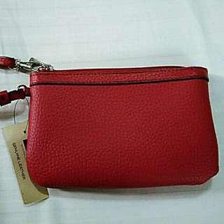 Wilson's leather wristlet wallet