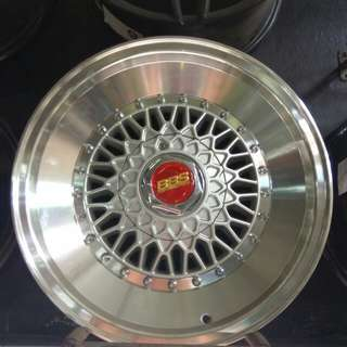 Bbs rs replika ring 16 belang 7,5-8,5 hole 8