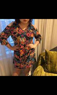 Plus size flora dress
