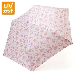 Japan Sanrio My Melody Rain and Shade Folding Umbrella