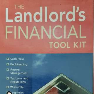THE LANDLORD'S FINANCIAL TOOLKIT-for real estate business