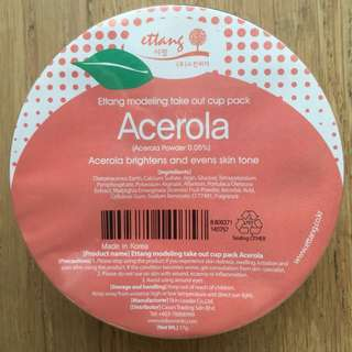 Modeling Take Out Cup Pack - Acerola