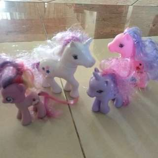 Little Pony set of 4