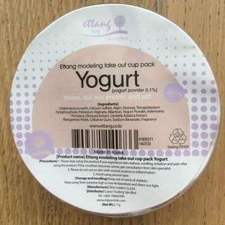 Modeling Take Out Cup Pack - Yoghurt