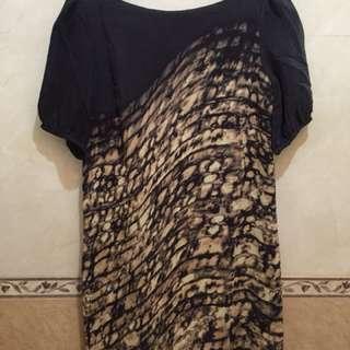 Dress zara authentic size s/m