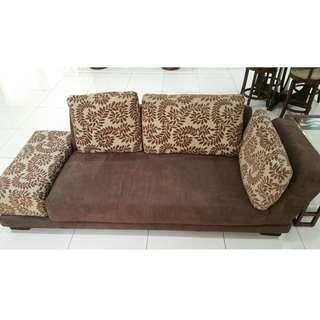 Imported  Floral Sofa Set