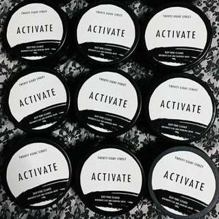 28 street's ACTIVATE CHARCOAL MASK 🖤