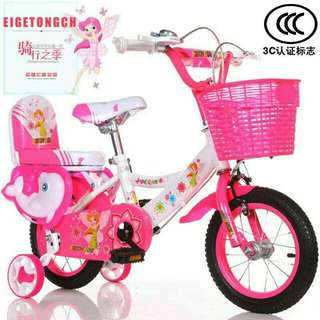 In stock size 12  kids Bicycle/bicycle