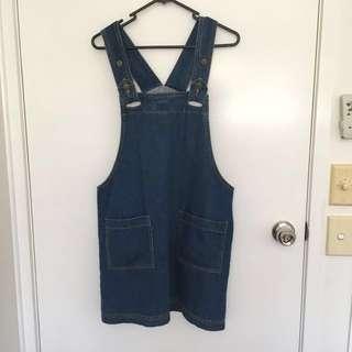 Jean dress Size S