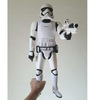 [二手]星際大戰 白武士 巨大模型