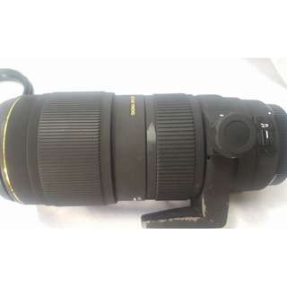 Sigma 70 to 200 f2.8 II APO DG EX ( In good Condition)