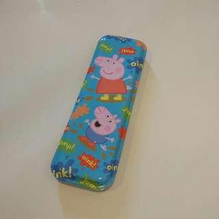 Peppa pig metal case