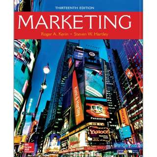 Marketing, 13th Edition eBook
