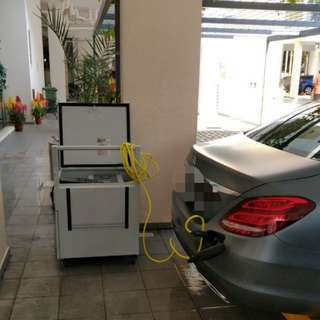 customized charger charge pack for hybrid or E-vehicles