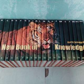 Encyclopedia: The New Book of Knowledge