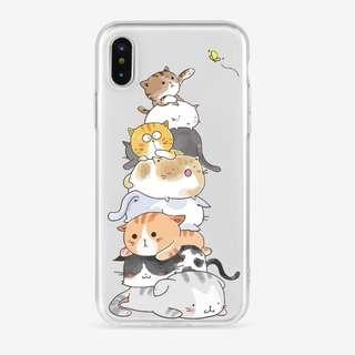 Emoticats Soft iPhone Case