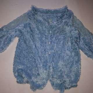 Preloved fur blazer