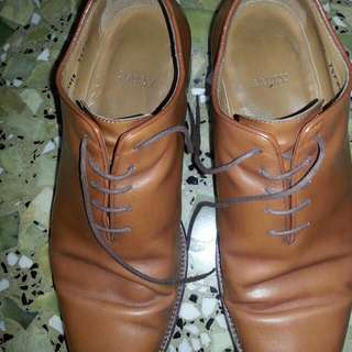 Authentic Bally Brown Camel Leather Shoes