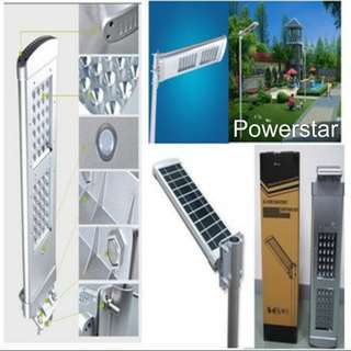 Solar Integrated Street and Courtyard Light 20w