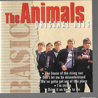 MY PRELOVED CD - THE ANIMALS ORIGINAL HITS - FREEDELIVERY (F7P))