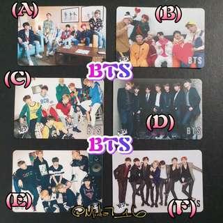 BTS - YES卡 ( 白卡 )