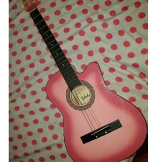 Global Acoustic Guitar Pink