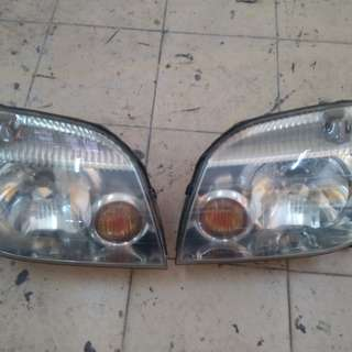 Nissan x-trail head lamp