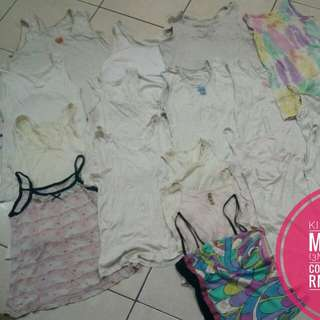 Mix size kids singlet
