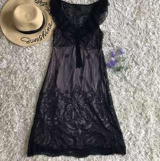 Mango lace dress very good