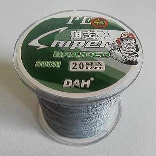 30 pounds PE braided fishing line.