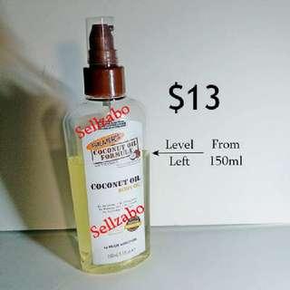 Used Palmers Coconut Body Oil Spray