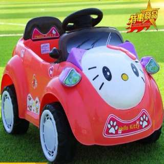 Hello Kitty Mini Rechargeable Toy Car with Remote Control