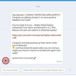 Thank you Carousell 😘😘😘