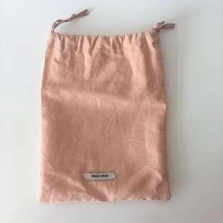 Miu Miu Dust Bag for short wallet