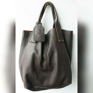 COW HIDE GENUINE LEATHER BAG