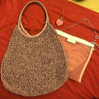 Anteprima handbag +內袋+charm