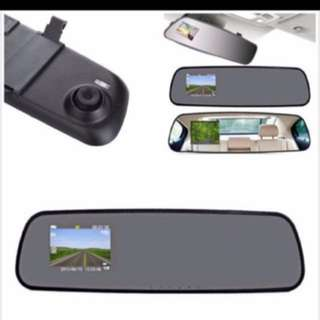 LCD HD Car DVR Car Camera Dash Cam Video Recorder Rearview Mirror Vehicle DVR!