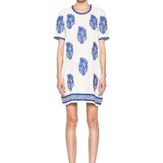 Isabel Marant Deryl embroidered dress, Sz 38