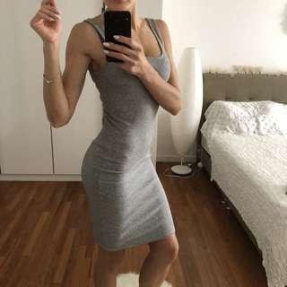 stretch cotton tight dress