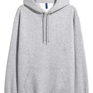 Grey Hoodie Size M
