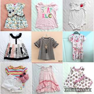 0-4yo Girl Baby Clothes