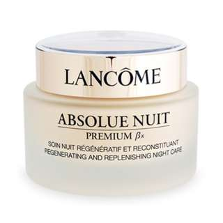 LANCOME Absolue Premium BX Regenerating and Replenishing Night Care 2.6oz/75ml