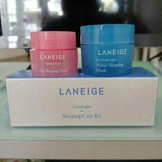 Laneige sleeping care goodnight kit